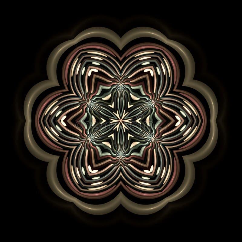 Download Floral plastic mandala stock illustration. Image of amulet - 5100124