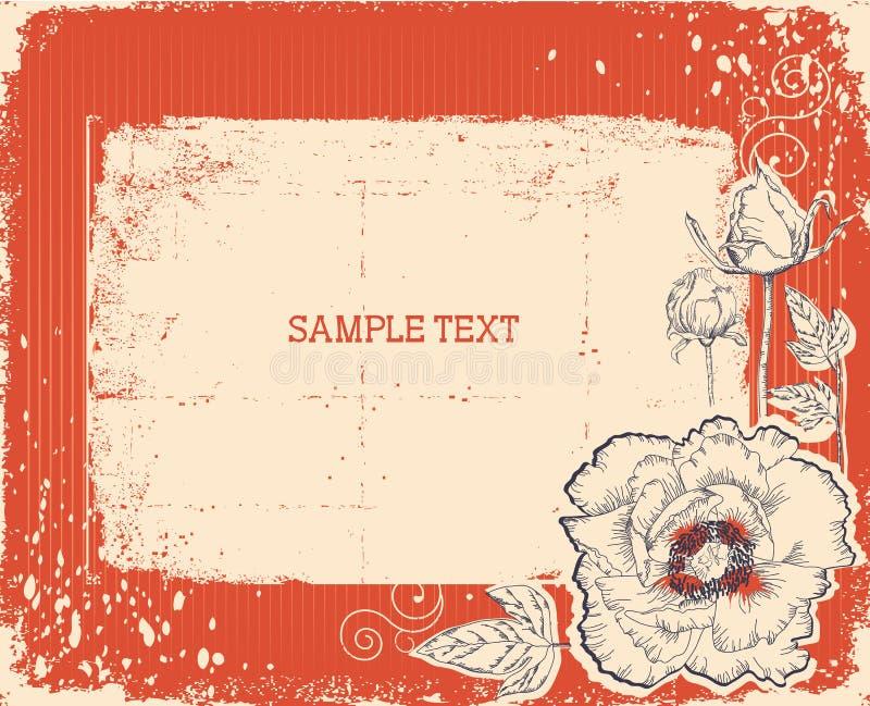 Download Floral Postcard. Vintage Background Stock Photo - Image: 20757510
