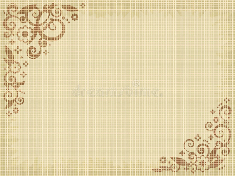 Floral print canvas background royalty free illustration