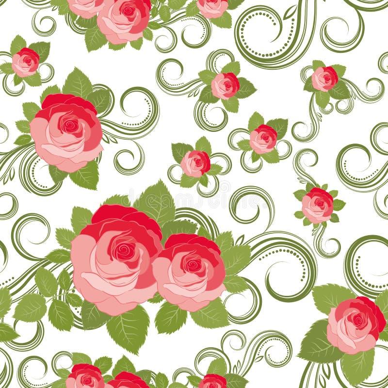Download Floral Rose pattern stock vector. Image of modern, decorative - 14259869