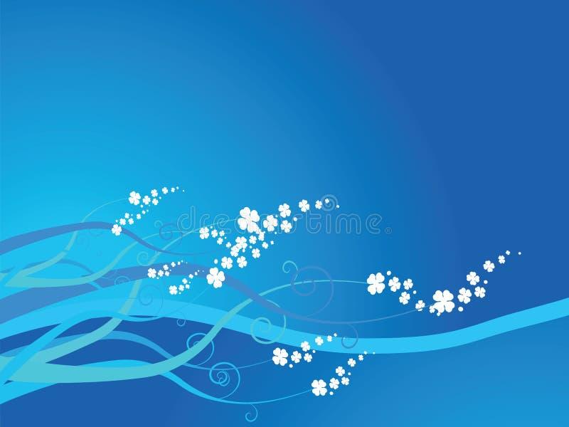 Download Floral sea stock vector. Image of design, shamrock, autumn - 2063331