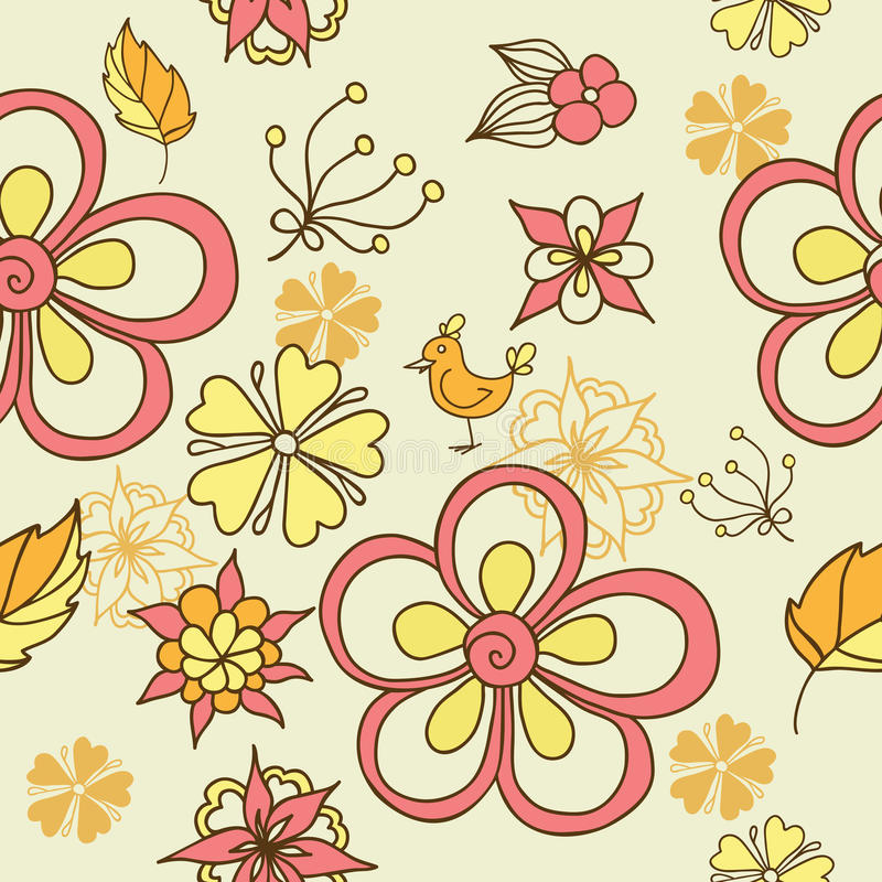 Download Floral Seamless Background Royalty Free Stock Photos - Image: 21312528