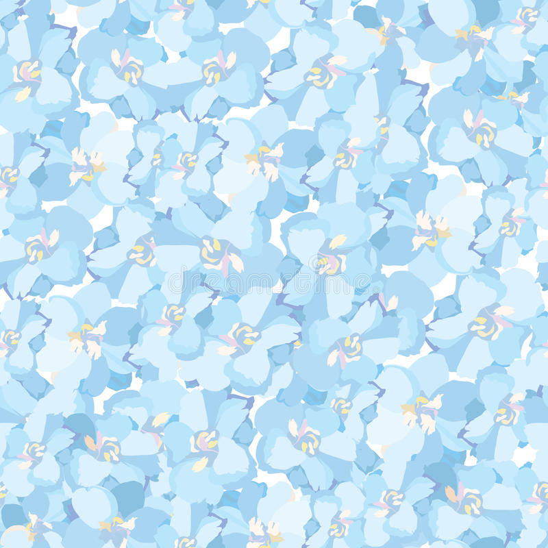 Floral seamless background. Abstract flower texture. vector illustration