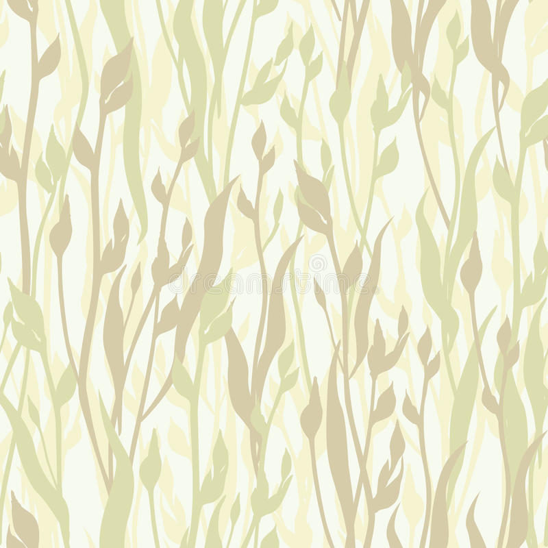 Floral Seamless Background Abstract Ornament Geometric