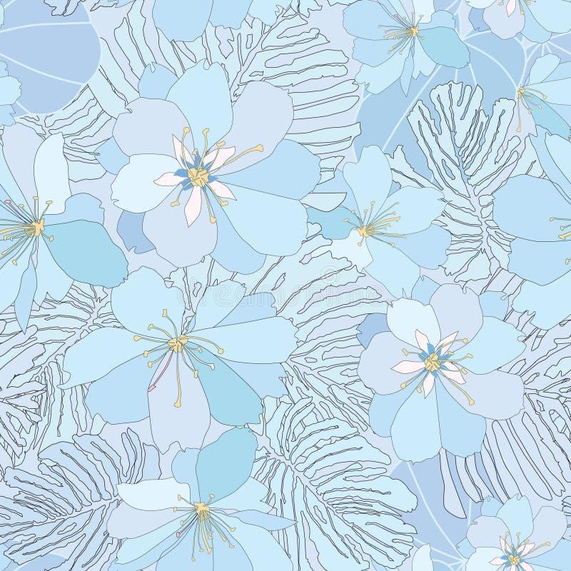 Download Floral Seamless Background. Gentle Flower Pattern. Stock Vector - Illustration: 30750404