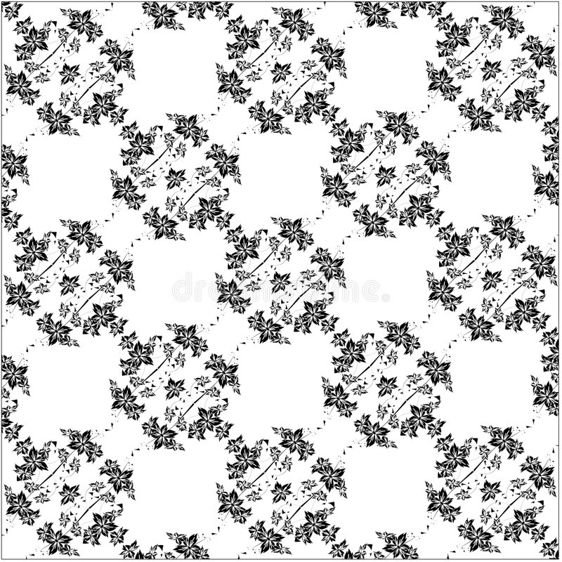 Download Floral Seamless Background Pattern Stock Vector - Illustration of fabric, antique: 7668212