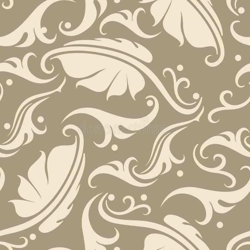 Download Floral Seamless Background. Stock Vector - Illustration of elegance, baroque: 33545564