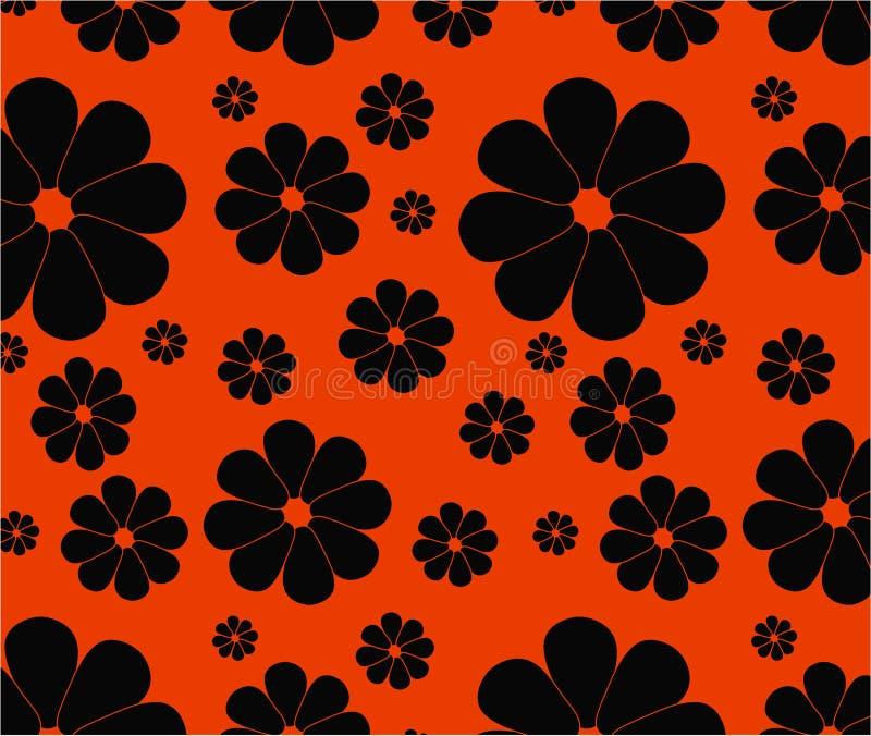 Floral seamless backgrounds stock photos