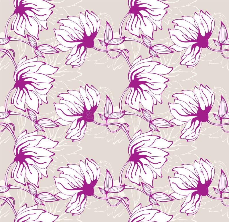 Download Floral seamless pattern stock vector. Illustration of damask - 18534843