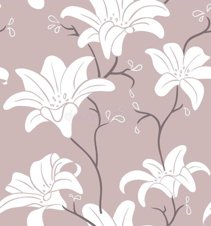 Download Floral seamless pattern stock vector. Image of love, beautiful - 26924295