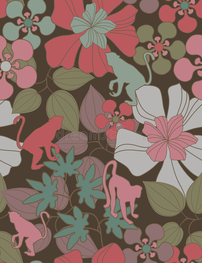 Download Floral seamless pattern stock vector. Image of beauty - 9161304