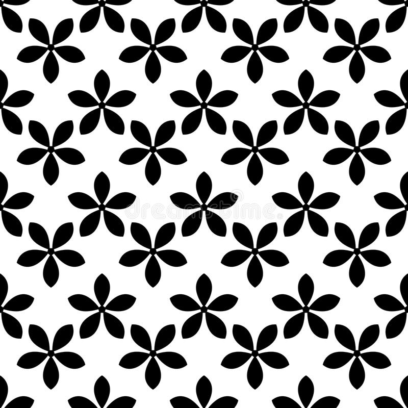 Floral seamless pattern. Abstract background stock illustration