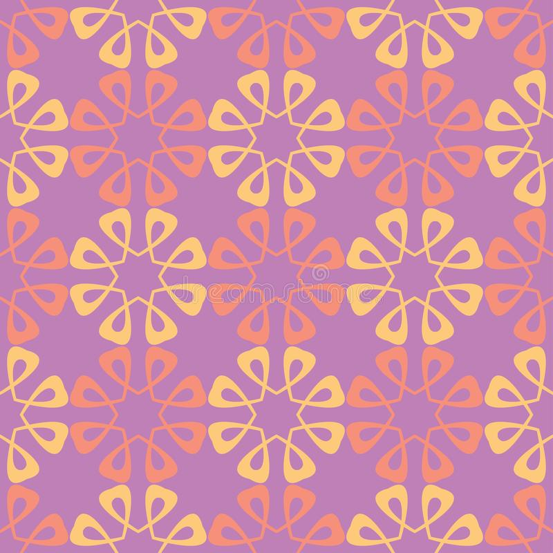 Floral seamless pattern. Colored background stock illustration