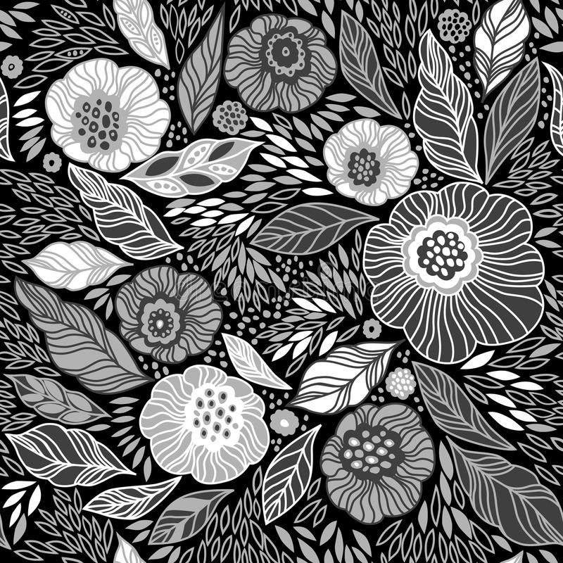 Floral seamless pattern stock images