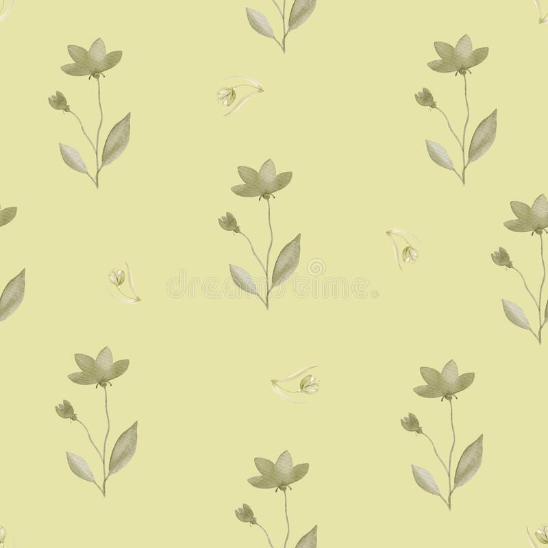 Mustard flower on a white background. Vector illustration. Clipart    k6781470   Fotosearch
