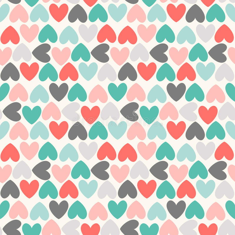 Floral seamless pattern. Red, green, black and. Floral seamless pattern. Endless texture can be used for printing onto fabric and paper or scrap booking royalty free illustration