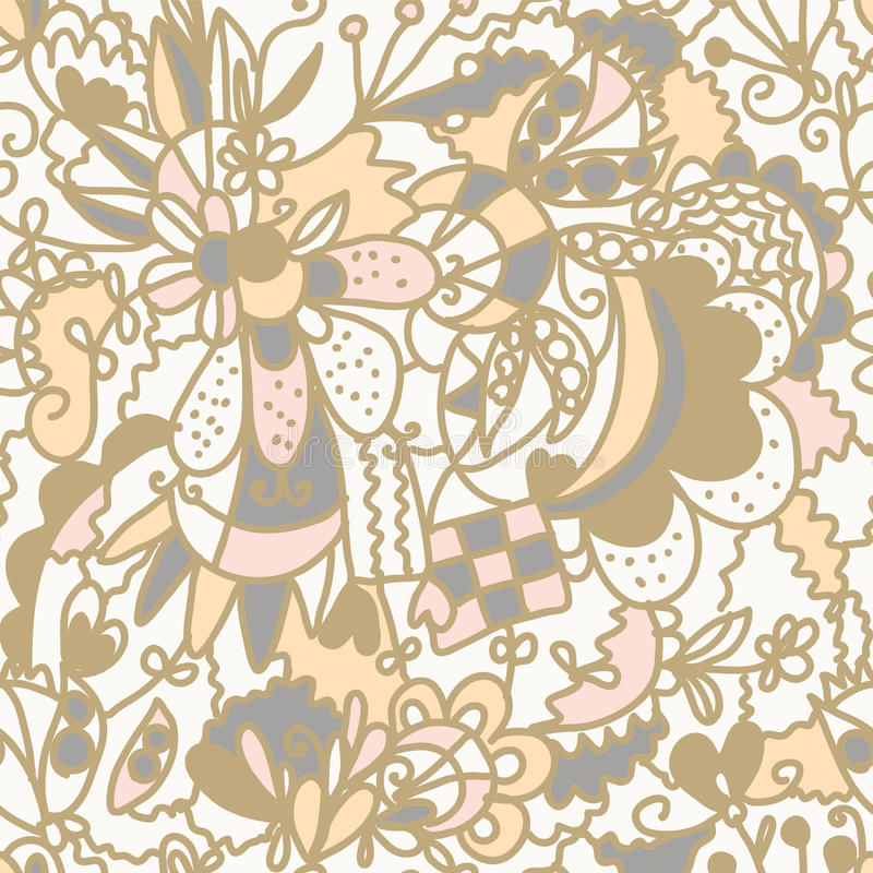Floral Seamless Pattern Romantic Royalty Free Stock Images