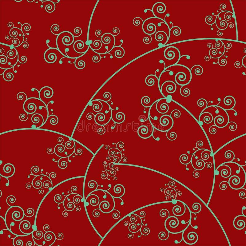 Floral Seamless Pattern 1 stock photos