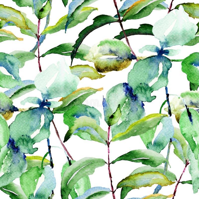Floral seamless pattern stock illustration