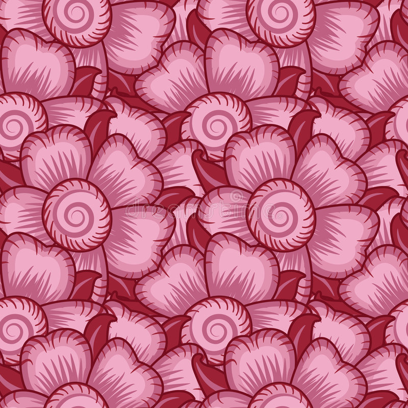 Download Floral Seamless Wallpaper Pattern Royalty Free Stock Photography - Image: 1592787