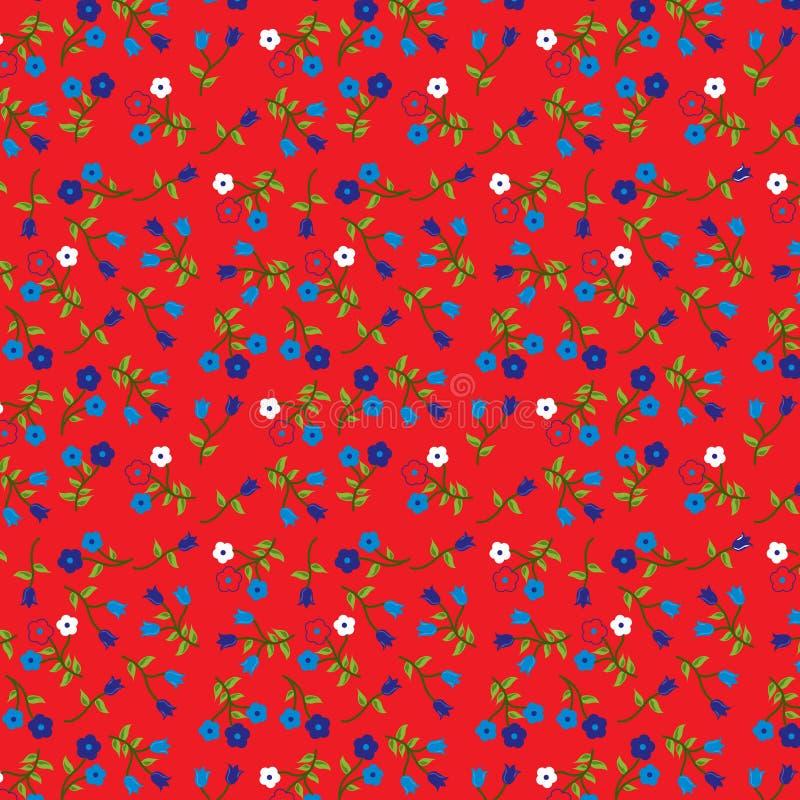 Download Floral Stamp stock vector. Illustration of color, cloth - 8872888