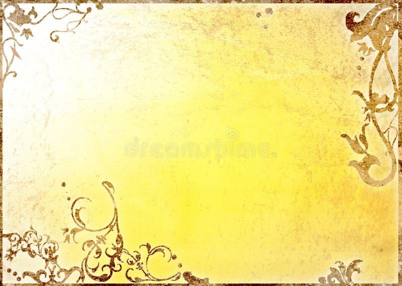 Download Floral style background stock illustration. Image of grunge - 5170581