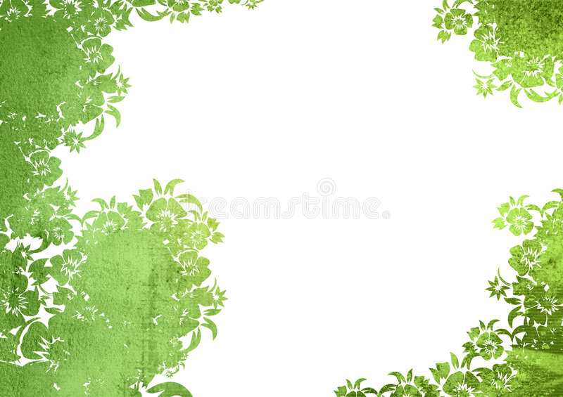 Floral style backgrounds royalty free illustration