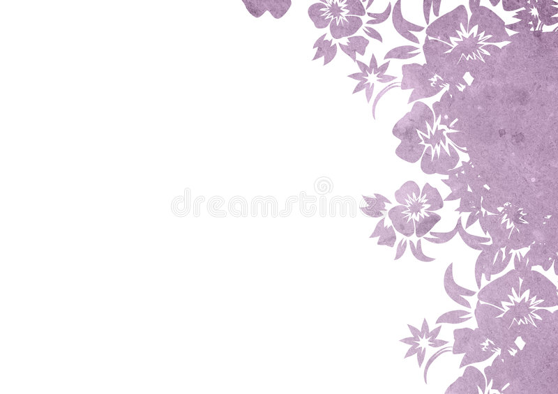 Floral style backgrounds stock illustration