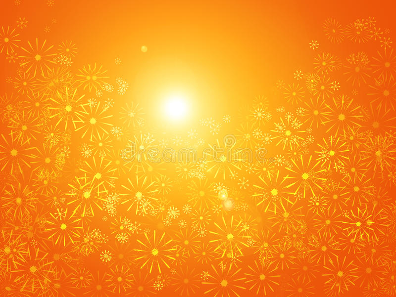 Download Floral Sunshine Abstract. Stock Photos - Image: 23128853
