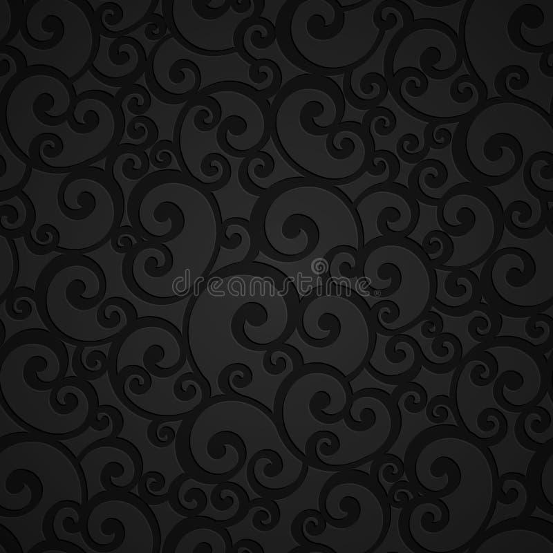 Free Floral Swirl Damask Seamless Pattern Stock Photo - 60462280