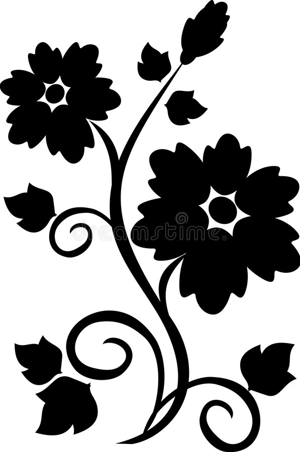 Free Floral Tattoo Royalty Free Stock Photo - 5841525