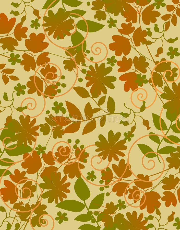 Free Floral Textile Royalty Free Stock Image - 9635636