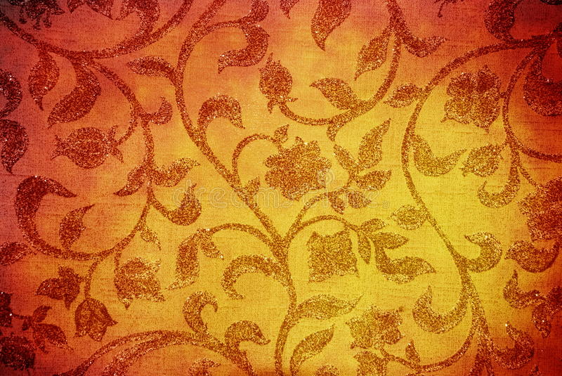 Download Floral texture stock image. Image of ancient, material - 10935297