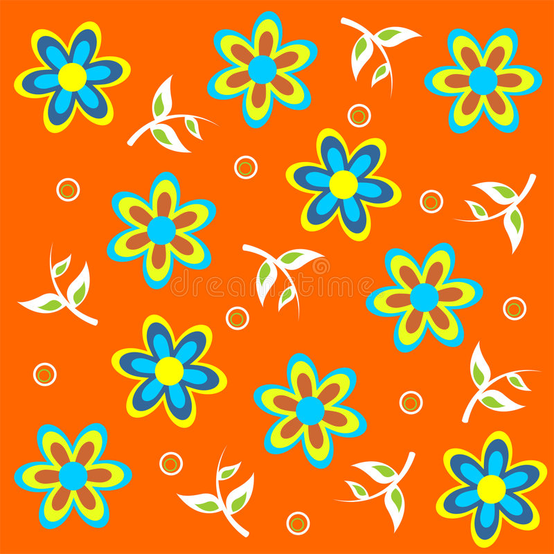 Download Floral_theme_08 stock vector. Image of flower, beach, icon - 2343555