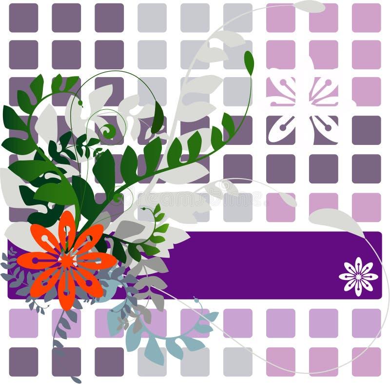 Floral Vector stock illustration