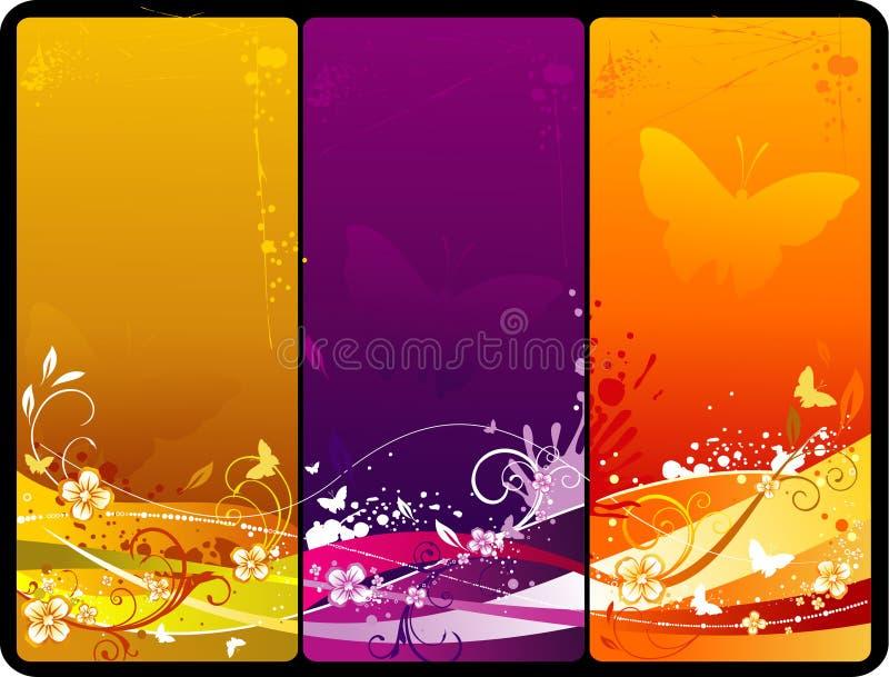 Floral vector composition vector illustration