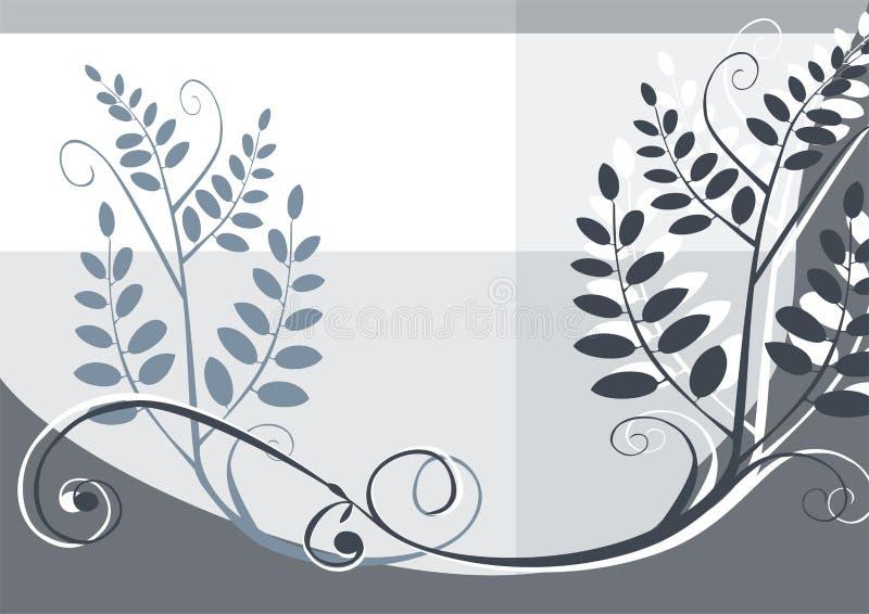 Floral vector design background royalty free illustration