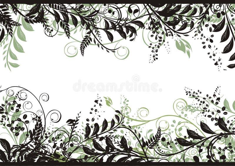 Download Floral Vector Frame stock vector. Image of filigree, leaf - 3901563