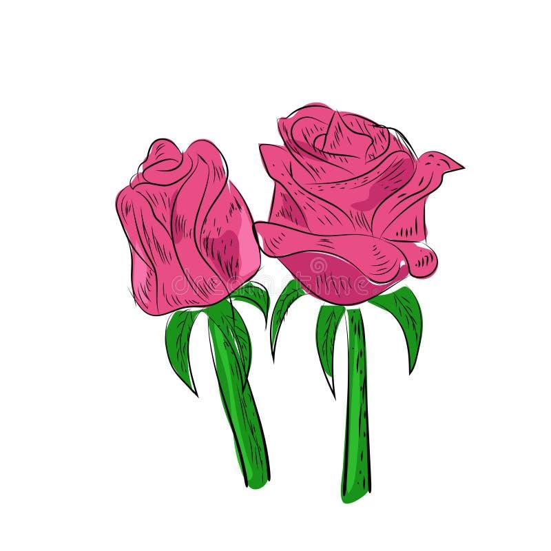 Floral vector spring card composition design tropical flowers leaves, leaf illustration background wedding birthday , valentine royalty free stock images
