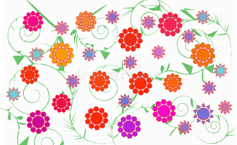 Floral Big Size royalty free stock photography