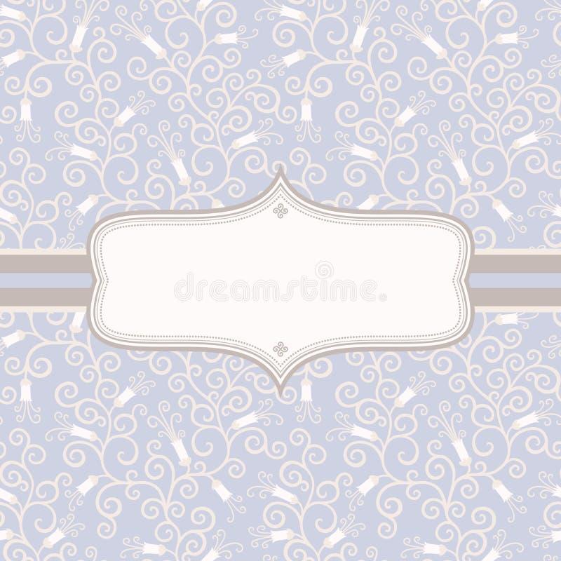 Download Floral vintage background stock vector. Image of frame - 24743282