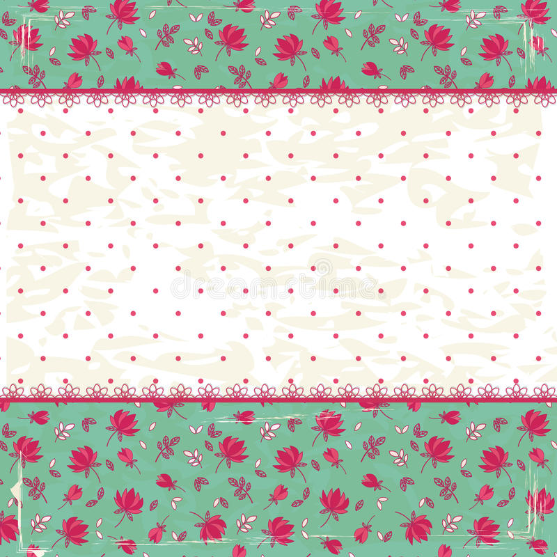 Free Floral Vintage Background Royalty Free Stock Photo - 31862795