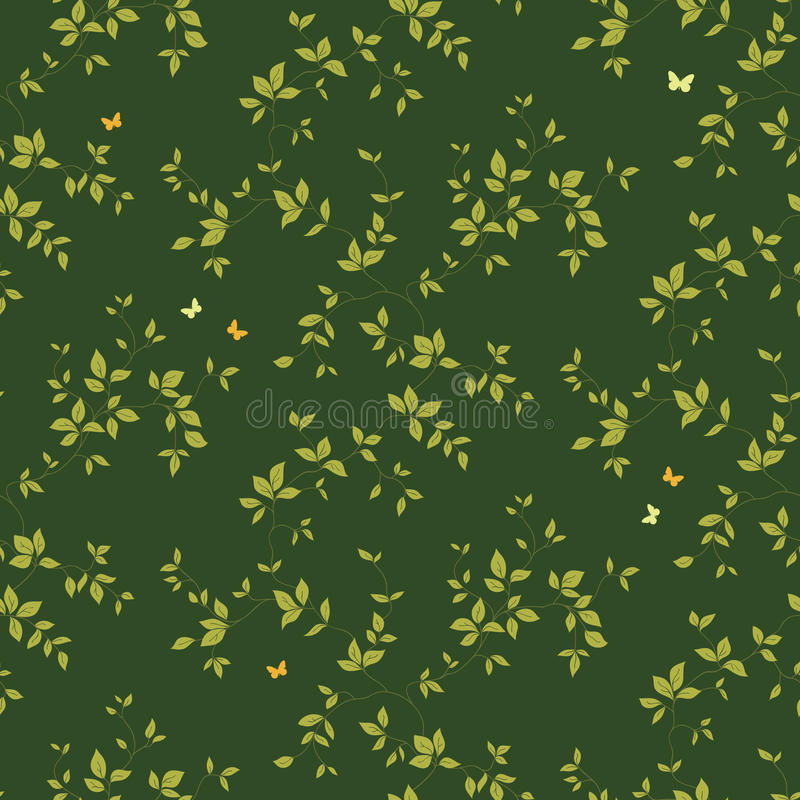 Download Floral Vintage Seamless Pattern Stock Vector - Illustration: 17209590