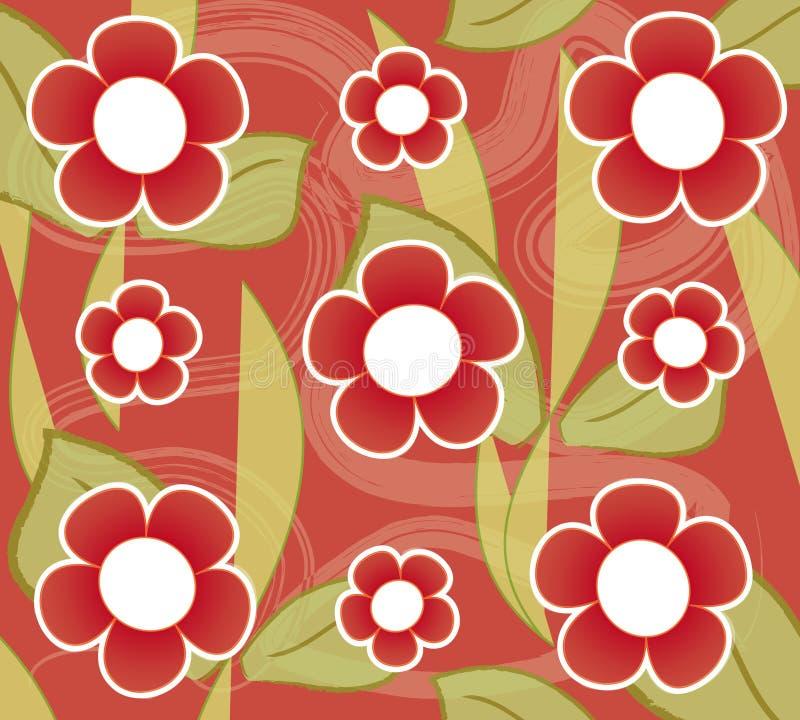Download Floral vintage wallpaper stock illustration. Image of leaves - 18036469