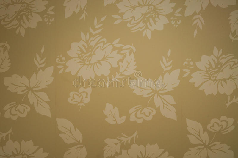 Floral wallpaper. Photo of floral wallpaper part royalty free stock images