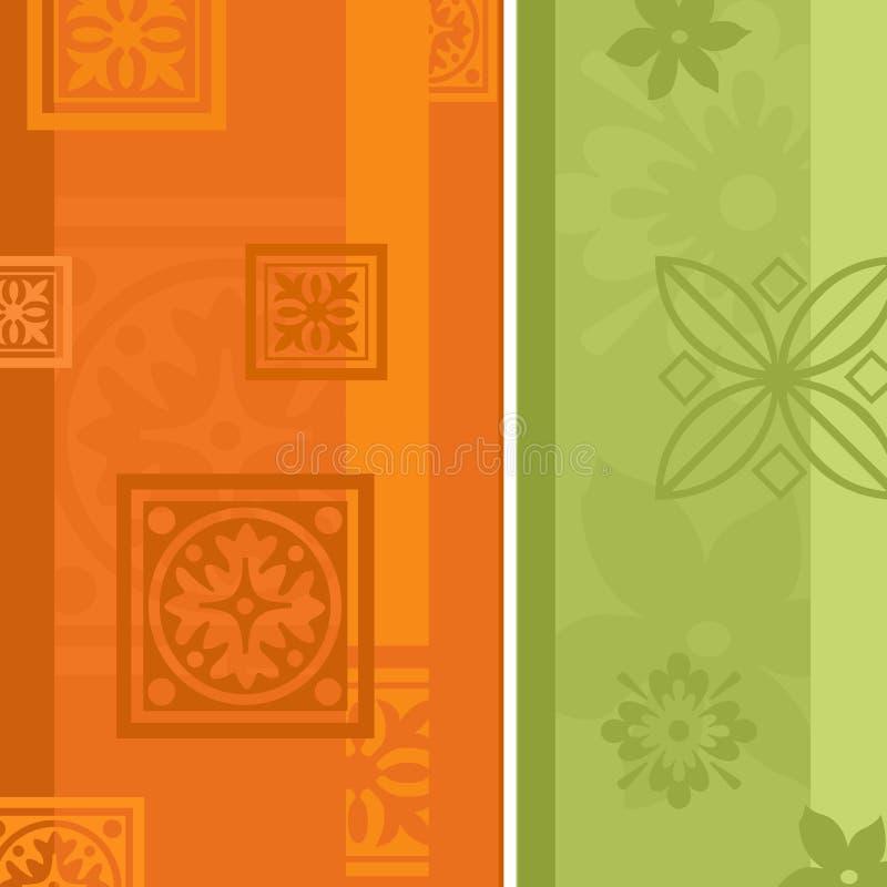 Floral Wallpaper. An illustration a floral wallpaper design for backgrounds vector illustration