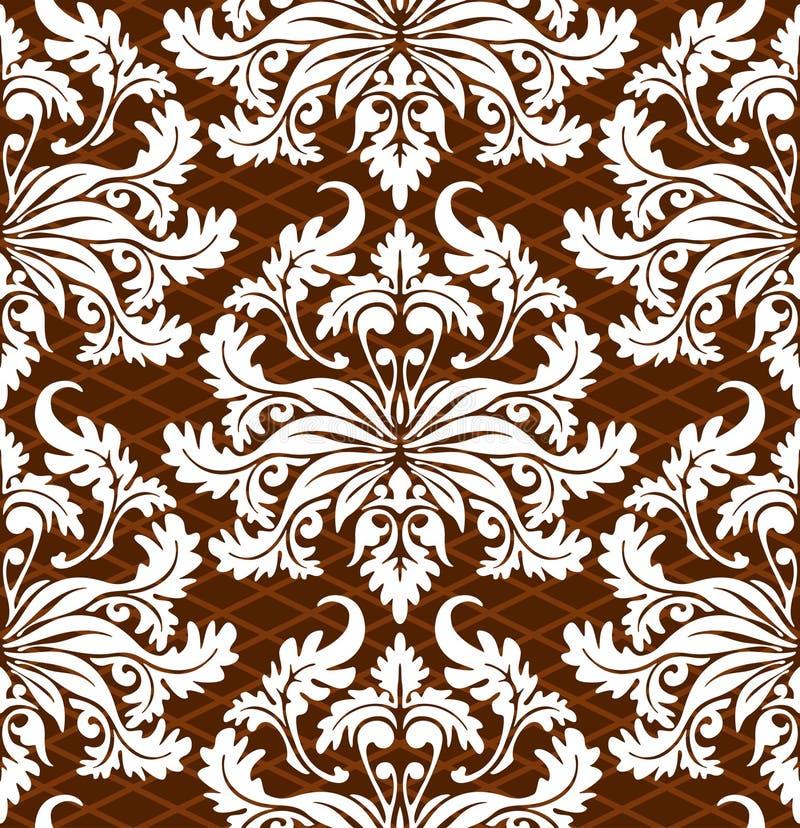 Download Floral wallpaper stock vector. Image of line, floral, decor - 6522506