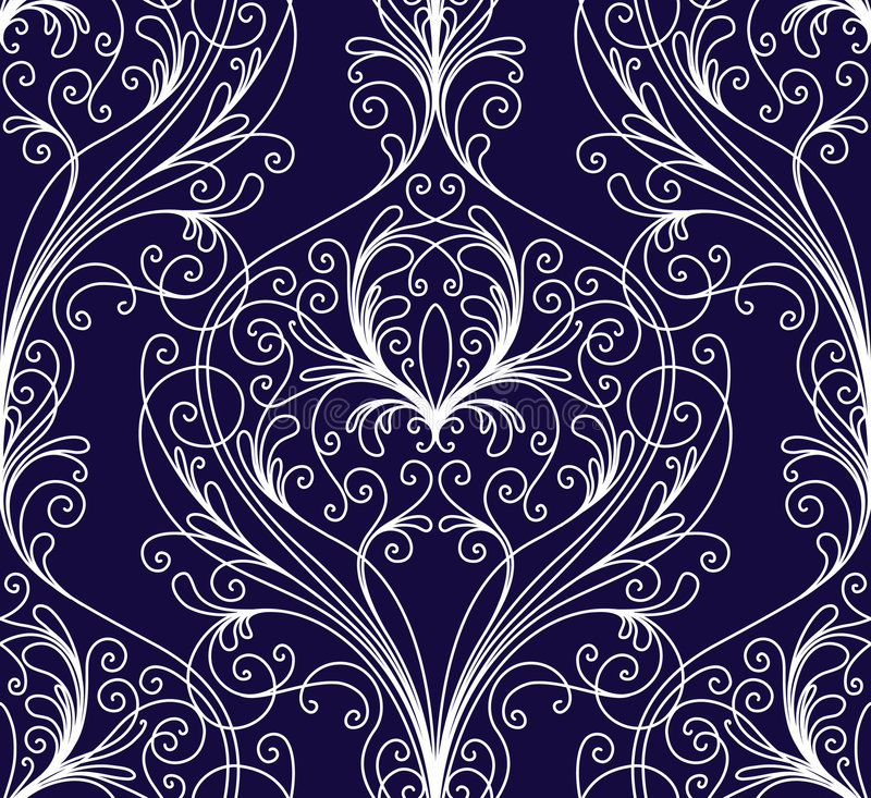 Download Floral wallpaper stock vector. Illustration of fashionable - 7158392