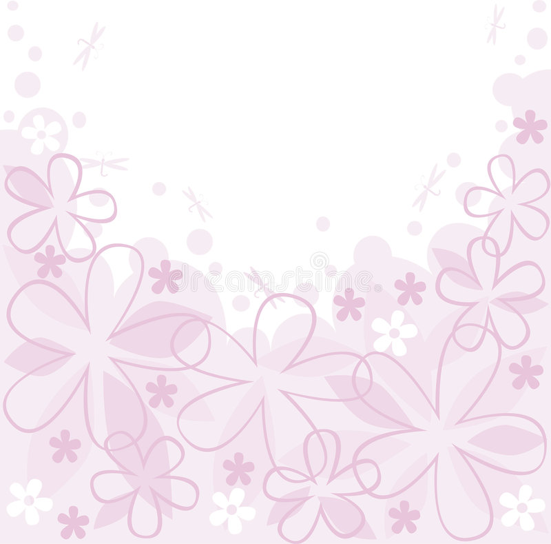 Download Floral wallpaper stock vector. Image of backdrop, abstract - 8182800