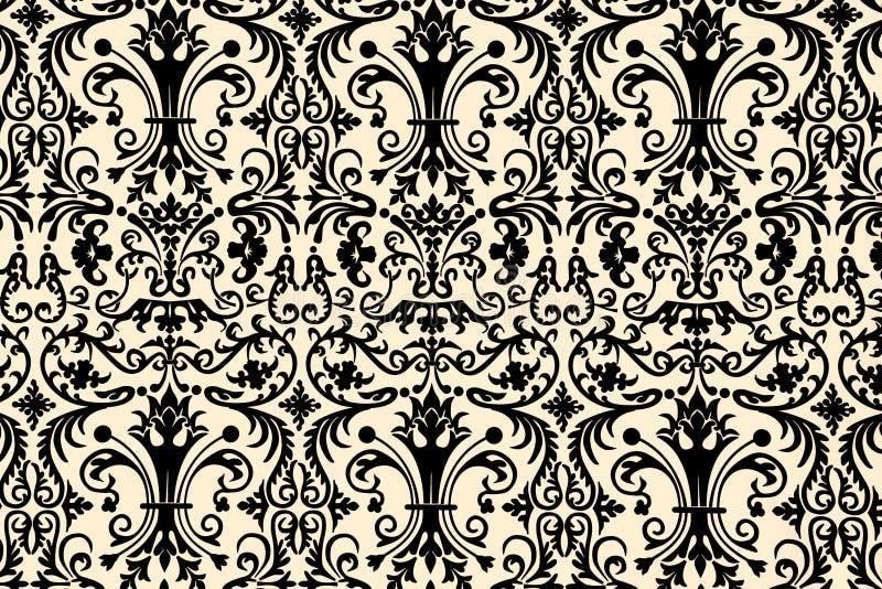 Download Floral Wallpaper Design Stock Image - Image: 3139301